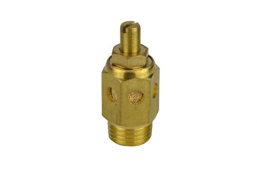 1/4 Inch Flat Head Pneumatic Flow Control Exhaust Silencer