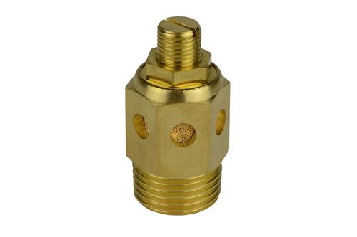 1/2 Inch Flat Head Pneumatic Flow Control Exhaust Silencer