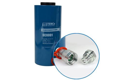 Hollow Hydraulic Cylinder Ram 20 TON 4 Inch Stroke