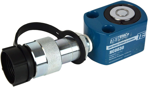 """Low Profile Height Hydraulic Cylinder Puck 5 Ton, 0.28"""" Stroke"""