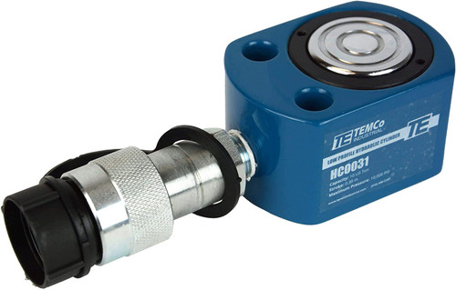 """Low Profile Height Hydraulic Cylinder Puck 10 Ton, 0.39"""" Stroke"""