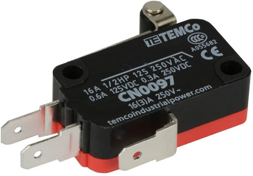 Short Roller Lever Arm Micro Limit Switch