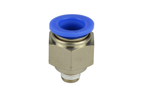 """1/8"""" NPT to 1/2"""" Hose OD Pneumatic Air Quick Push to Connect Fitting"""