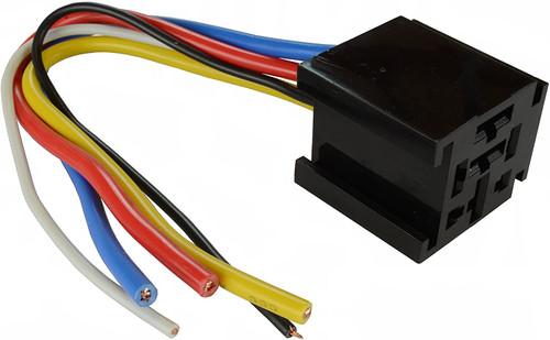 Bosch Style Relay Harness - 12V 60/70/80 Amp Socket SPDT