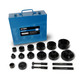 "TH0388 Dimple Die Set Tool Kit 6pcs for Conduit Knockout Sizes: (1/2"") 0.86"", (3/4"") 1.05"", (1"") 1.33"", (1-1/4"") 1.69"", (1-1/2"") 1.93"", (2"") 2.36"""