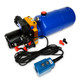 HP0013 12V DC Hydraulic Power Unit/Dump Trailer Pump 8 Qt Power up/Power Down (Double Acting)