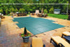 16' x 32' Rectangle Ultra-Loc III Solid Gray In-Ground Pool Safety Cover