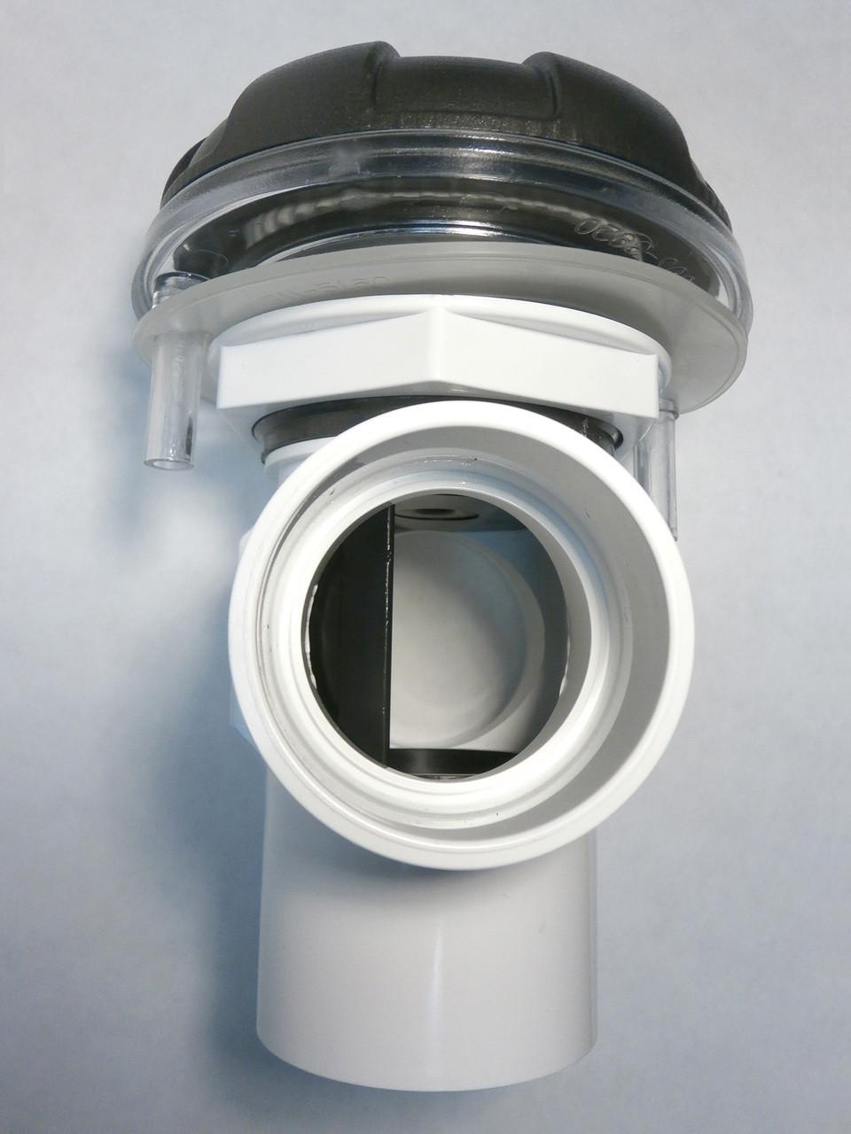 Master Spa - X245375 - 2 inch DSG 6-Spoke Diverter Assembly Starting 2009 - Side View