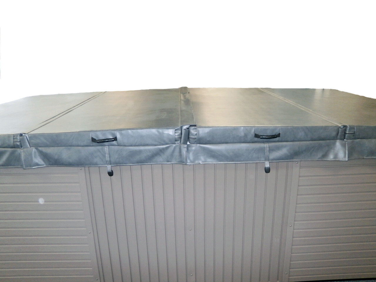 """Master Spa - MSCOVER11 - Master Spa Cover 11' x 8' (132"""" x 94"""")- Side View"""