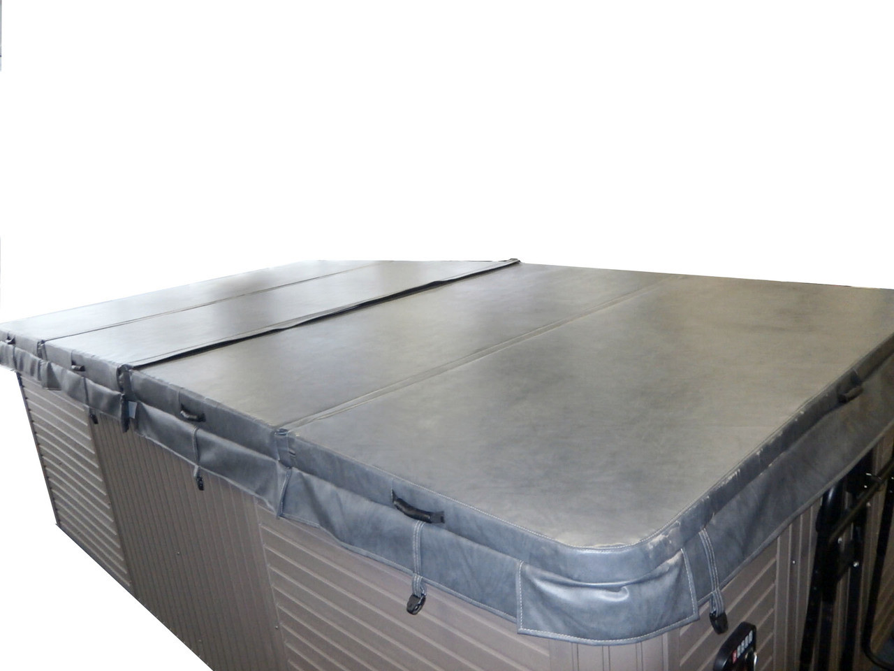 """Master Spa - MSCOVER11 - Master Spa Cover 11' x 8' (132"""" x 94"""") - Side View"""