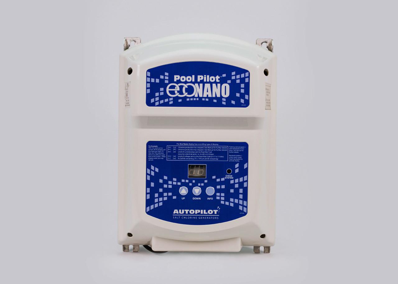 Pool Pilot® Eco Nano 220V with PPC1 Inline Cell