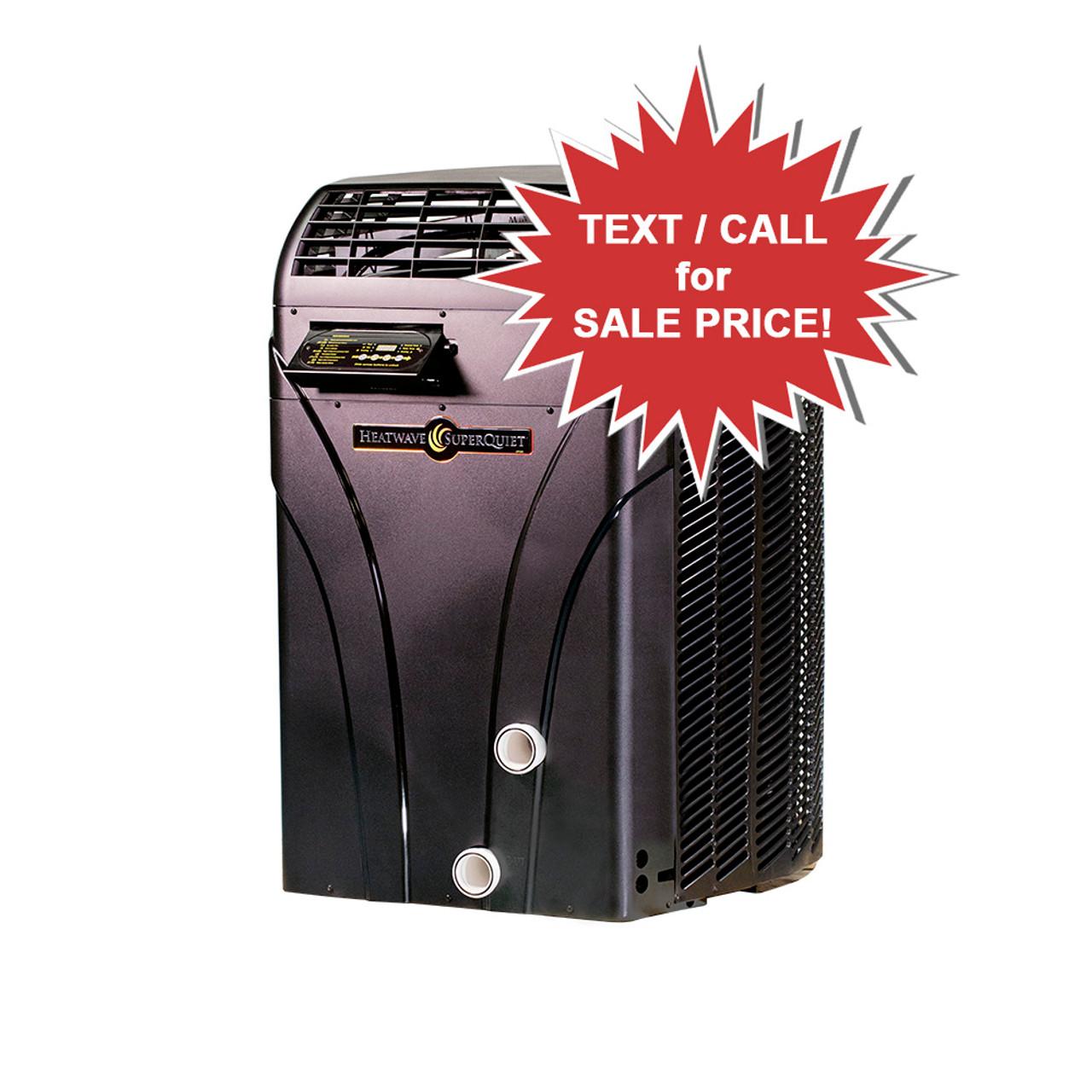AquaCal SQ-125 SuperQuiet 101k BTU Pool & Spa Heat Pump