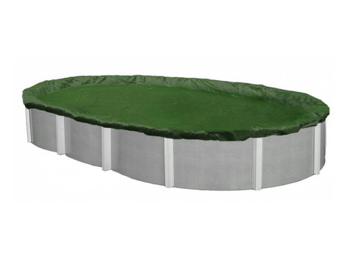 12' x 18' - Oval - 12 Year - Poly Pool Cover