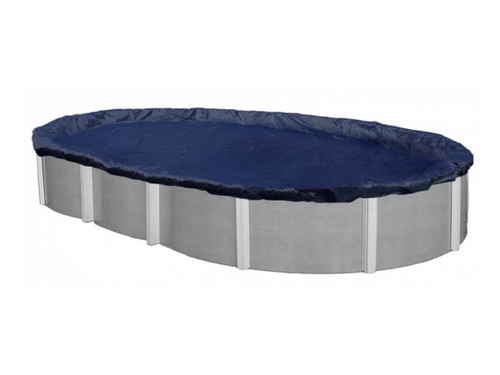 15' x 27' - Oval - 8 Year - Poly Pool Cover