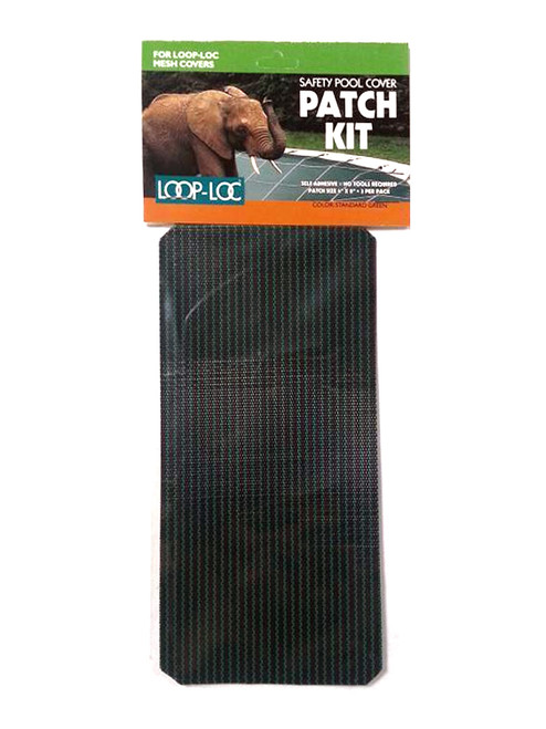 25385A - Genuine Loop-Loc Patch Kit to Repair Loop-Loc Mesh Covers Standard Green