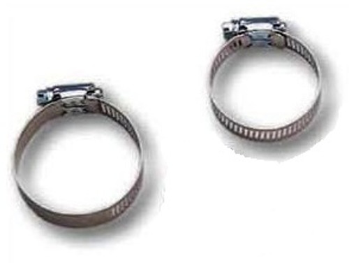 Jed 80-215 2 – 1 ½ inch stainless steel hose clamps