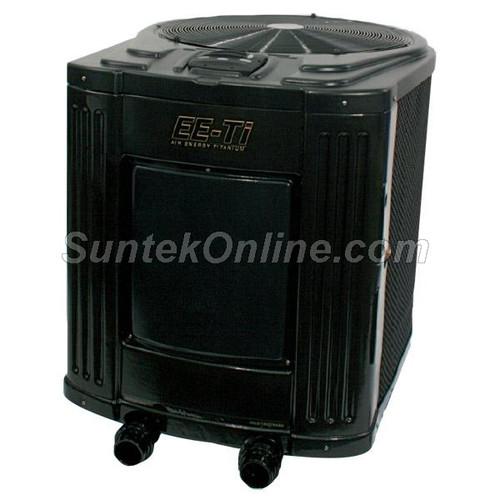 Jandy EE-Ti 120,000 BTU Heat Pump, 6.3 COP, 410A, 230V/60Hz/1 Phase, Heater, Titanium, Digital - EE2500T