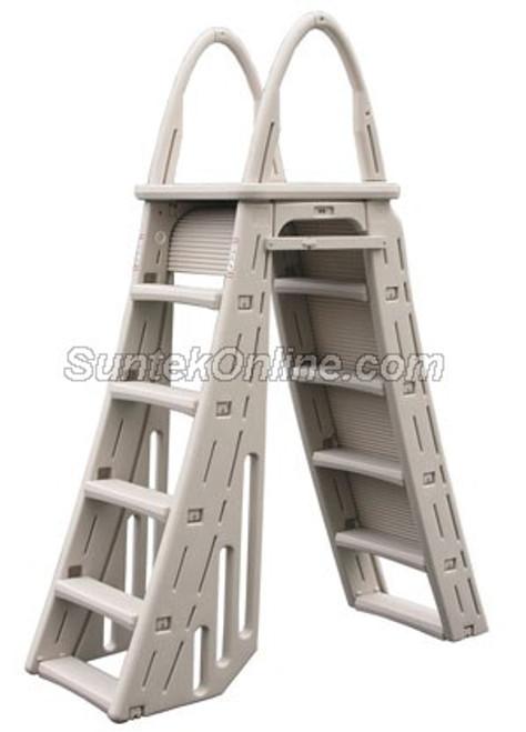 Confer Plastics 7200 Roll Guard A-Frame Ladder