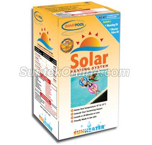 SunHeater S425P  Solar Heating System