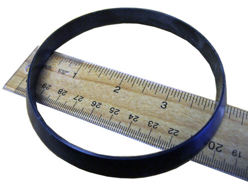 Master Spa - X241055 - 5 inch G.G. Industry Spacer Ring - Top View with ruler
