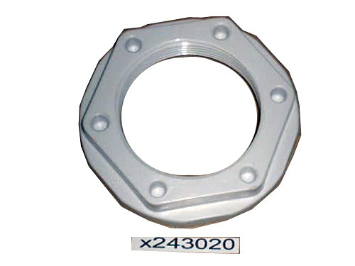 Master Spa - X243020 - Nut for Ozone Bypass Flange Wall Fitting - Front View