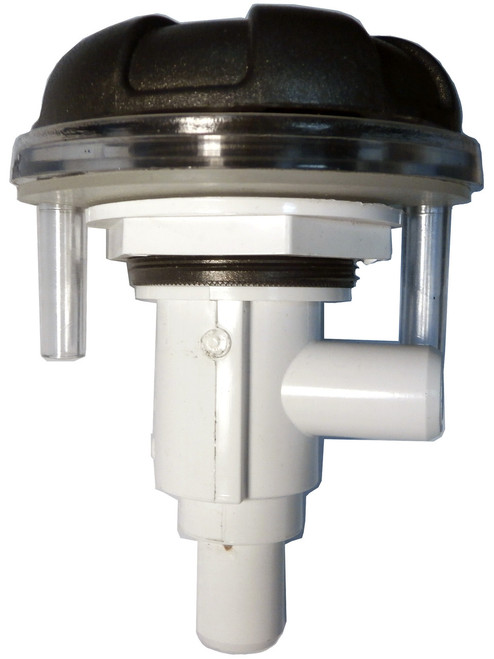 Master Spa - X245370 - DSG 6-Spoke Waterfall Diverter Assembly Starting 2009 - Side View