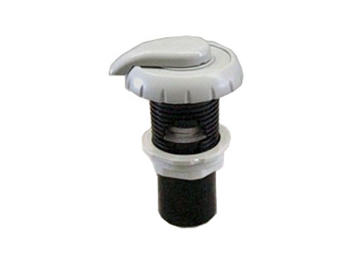 Master Spa - X252520 - 1 inch Notched Grey Air Control for 1 inch Inside Diameter Plumbing