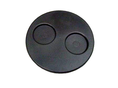 Master Spa - X261440 - Filter Lid - Round Black Filter Lid- Top View