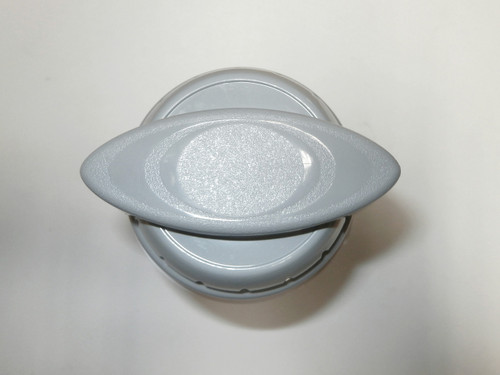 Master Spa - X279630 - .5 inch Gray Waterfall 3 Way Diverter Valve - Top View