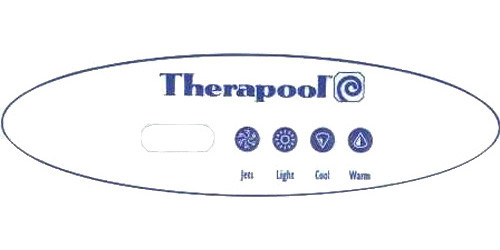 Master Spa - X300715 - Therapool Overlay for MAS360 Panel