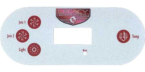 Master Spa - X300716 - Overlay for Legacy with MAS520 System - Front View