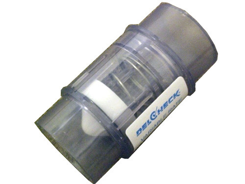 Master Spa - X320058 - 2 inch SpxSp Variable Rate Check Valve - Side View