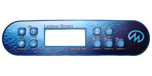 Master Spa - X508080 - Legend Series Overlay - Legend Series Overlay
