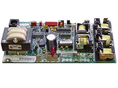 Master Spa - X800750 - Balboa Equipment MAS75 PC Circuit Board  - Front View