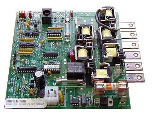 Master Spa - X800800 - Balboa Equipment MAS125 PC Circuit Board - Front View
