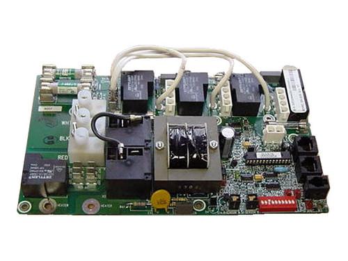 Master Spa - X800960 - Balboa Equipment MAS260 PC Circuit Board - Front View