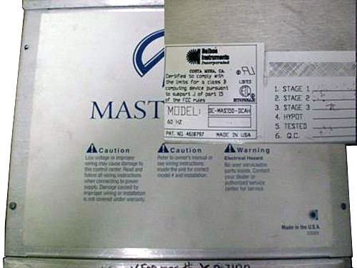 Master Spa - X300500 - Balboa Equipment MAS150 System Control Pack