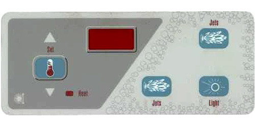 Master Spa - X505400 - Jet/Jet Overlay