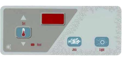 Master Spa - X505500 - Jet/Light Overlay