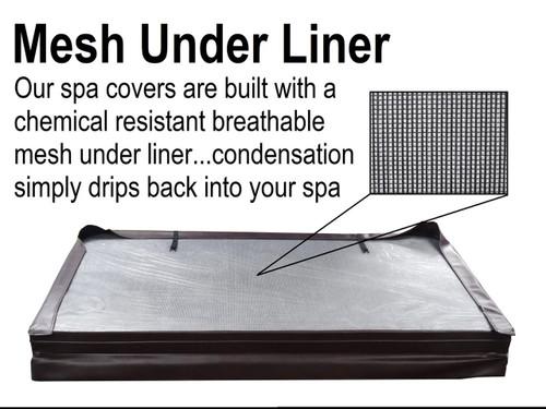 "Master Spa - MSCOVER6 - Spa Cover 6.5' x 6.5' (78"" x 78"")"