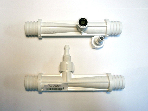 Master Spa - X320207 - White Mazzei Ozone Injector Without Check Valve - Demo View