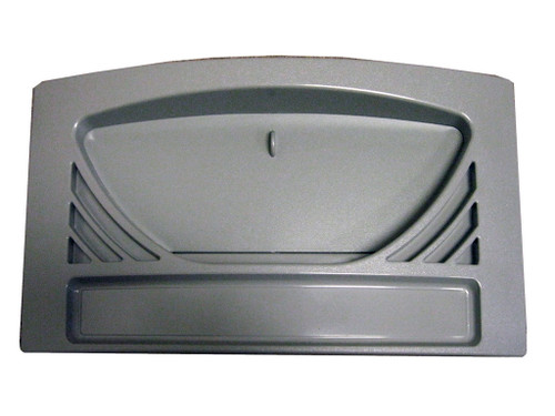 Master Spa - X804633 - Weir Cover DSG For Swim Spa Filter Housing Light Gray - Front View
