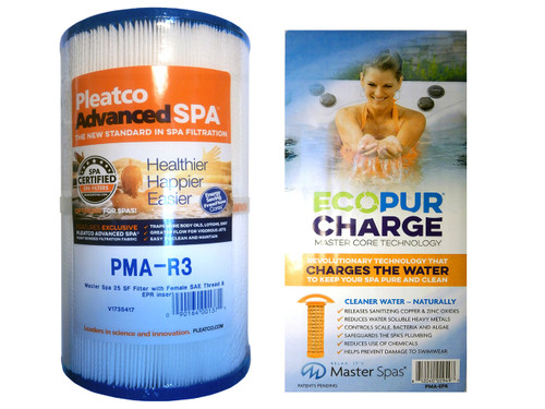 Master Spa - CLSEPRSET - Clarity & Healthy Living EPR Filter Set - X268548 - PMA-R3 and PMA-EPR - X268532