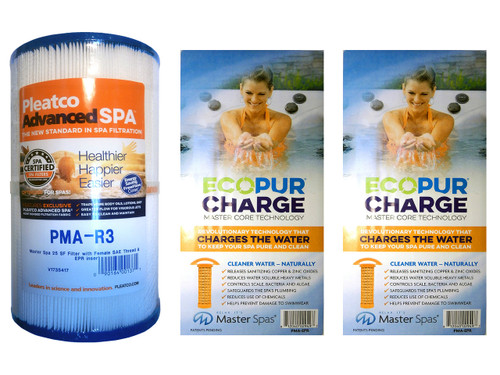 Master Spa - CLSEPRSET2 - Clarity & Healthy Living EPR Filter Set - (1) X268548 - PMA-R3 and PMA-EPR - (2) X268532