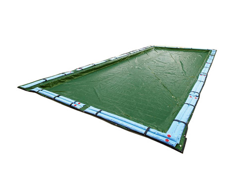 16' x 24' - Rectangle - 12 Year - Poly Pool Cover