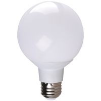 LED 6 watt Globe (40W eqv) Dimmable