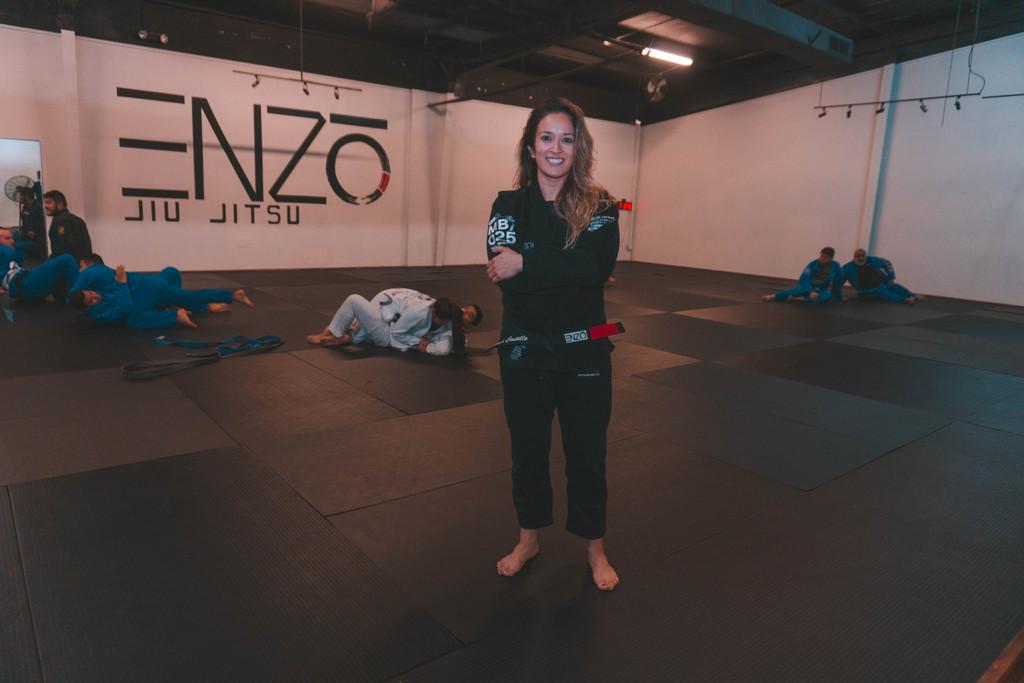 Brenda Castillo - Jiu Jitsu Blackbelt, Gym Owner & Mentor