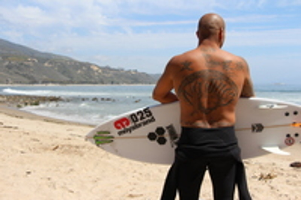 Pro Surfer Bobby Martinez - Surf, Fight, Train 2015!  Video