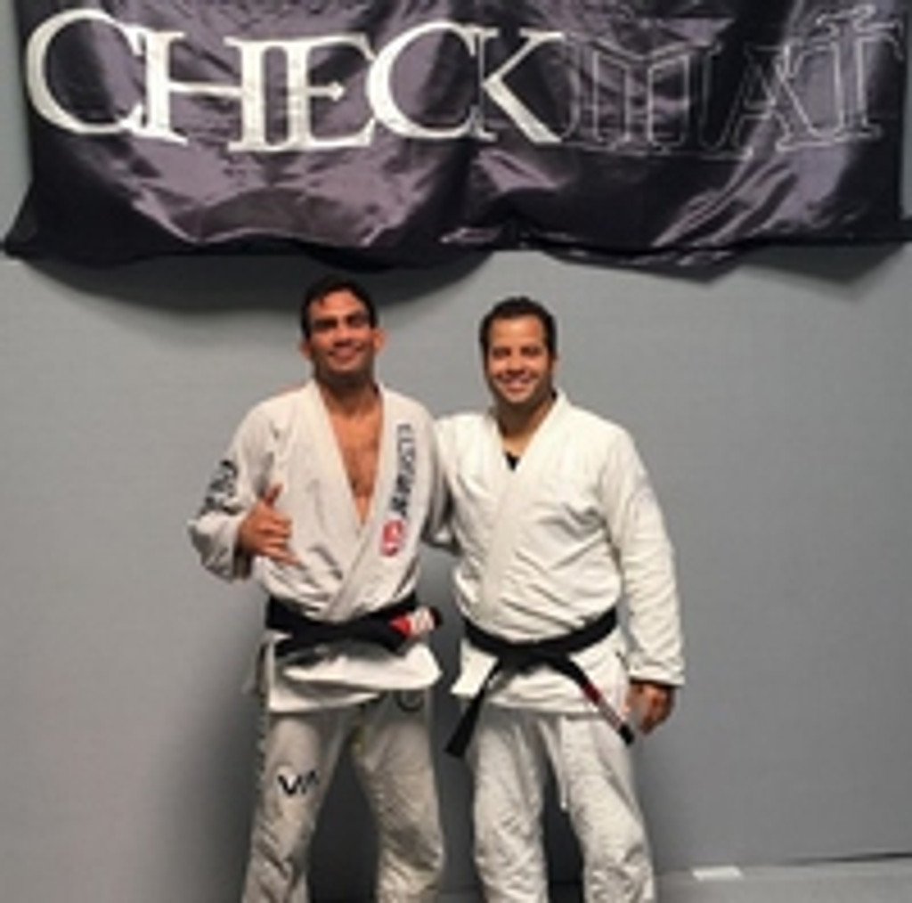 Half Guard Master - Lucas Leite (Checkmat, LH) Receives 3rd Stripe on his Blackbelt - 2016!