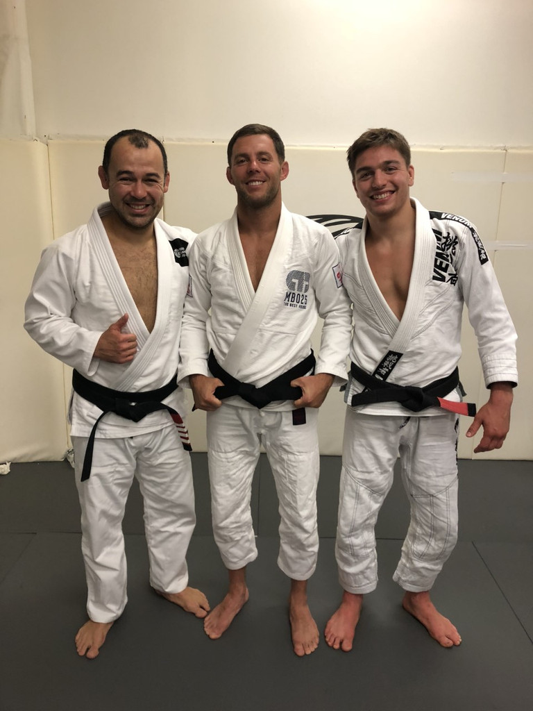 Intorducing the newest Black Belt:  Richard Van Houten (Marcelo Garcia BJJ/Hoboken BJJ) 2019